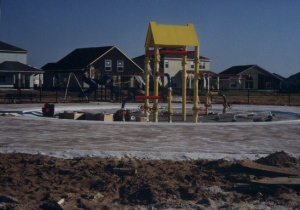 Kiddie Pool Construction circa 1999