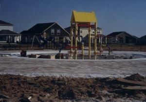 Kiddie Pool Construction circa 1999