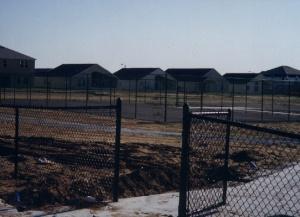 Tennis courts circa 1999