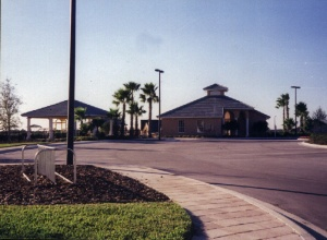Playground/club house entrance circa 1999