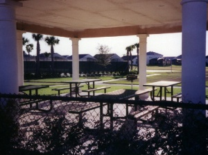 Pool area circa 1999