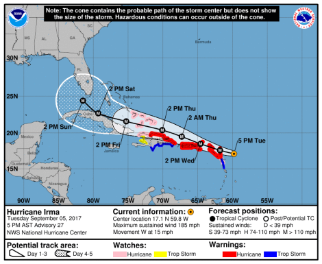 Hurricane Irma Sept 5