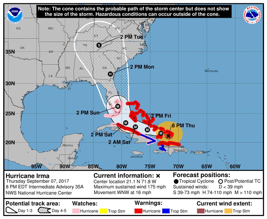 Hurricane Irma Sept 7