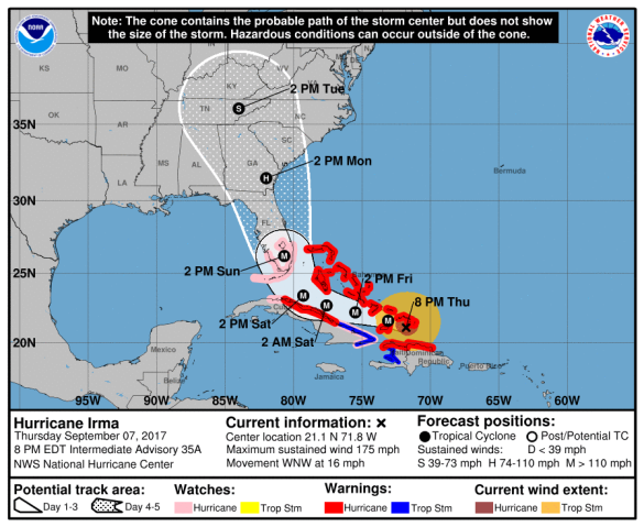 Hurricane Irma Sept 7
