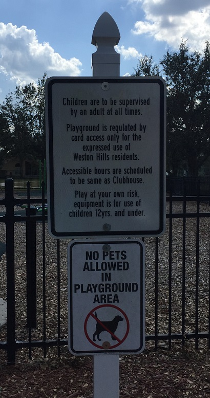 PlaygroungSign